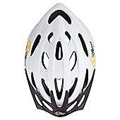 Via Velo Women's Cycle Helmet 58-62cm, White