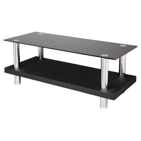Tesco Wood and Chrome TV Stand for up to 42