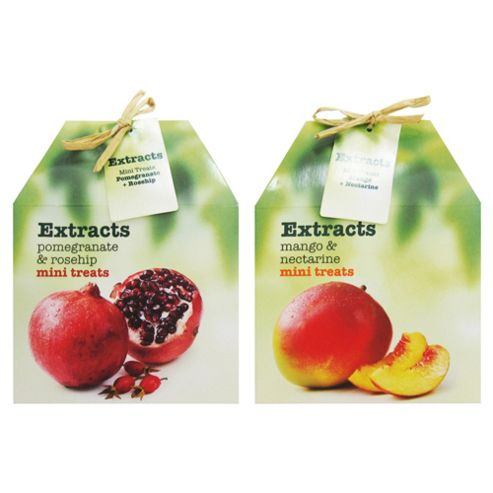 Extracts Mini Treats Mango And Nectarine/Extracts Mini Treats Pomegranate And Rosehip