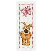 Cross-Stitch Bookmark Kit, Boofle Butterfly Design