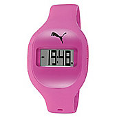 Puma Ladies Fuse Digital Purple Resin Sport Strap Watch PU910921004