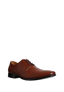 F F Leather Tramline Stitch Shoes