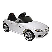 Kids Electric Car BMW Z4 6 Volt White Gloss