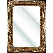 D & J Simons Berkshire Mirror - Gold - 119.5cm H x 94cm W