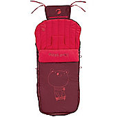 Jane Luxury Nest Plus Footmuff (Red)