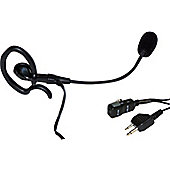 Maplin Midland Earpiece & Microphone Headset - Black