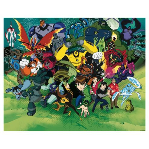 Ben 10 Wallpaper Mural 8ft x 10ft