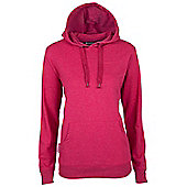 Redwing Womens Pullover Walking Hiking Front Pocket Jumper Sweater Top Hoodie - Red
