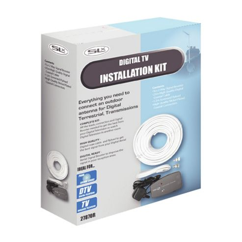 Maplin 2-Room Amplified Digital TV Distribution Kit