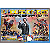 Board Game - A House Divided - War Between The States 1861-65 - Mayfair Games