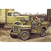Dragon 6725 Sas Raidrer 4X4 Truck Eto 1944 Smart Model Kit 1:35