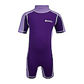 Rash Summer Beach Baby Toddler Kids Stretch High UV Protection Swim Suit - Chinese violet