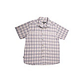 Motril Cotton Men's Short Sleeve Shirt - Grey