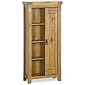 Kelburn Furniture Veneto Rustic Oak CD / Bookcase