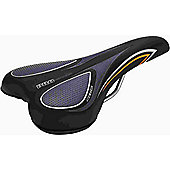Acor Unisex City/Comfort Saddle: Black/Grey.