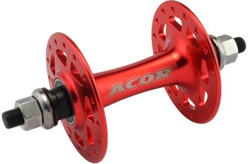 Acor Flip-Flop Track Hub: 32H Front Red.