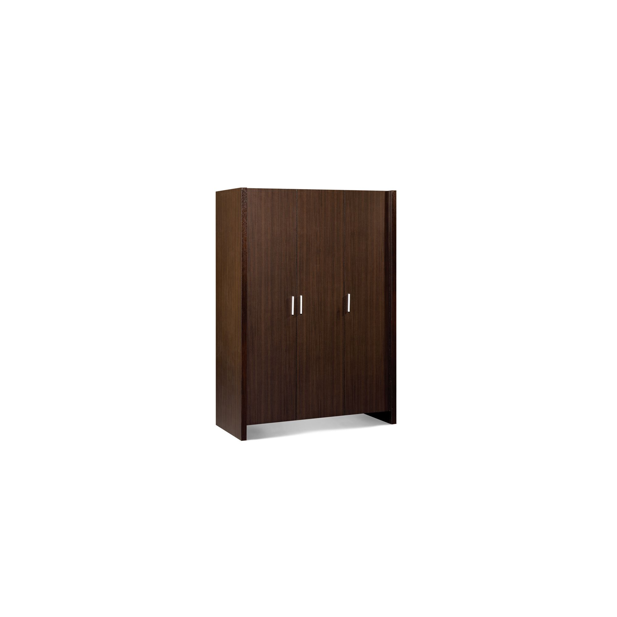Julian Bowen Havana 3 Door Wardrobe in Wenge at Tesco Direct