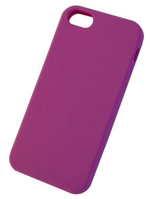 Tortoise™ Soft Silicone Case iPhone 5 Pink