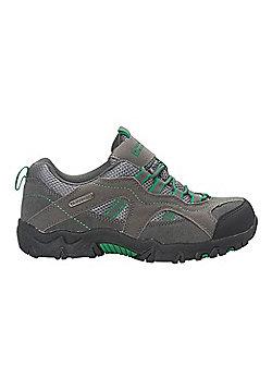 Stampede Kid's Waterproof Walking Shoes - Green