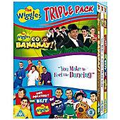 The Wiggles - You Make Me Feel Like Dancing / Go Bananas / Best Of  (DVD Boxset)
