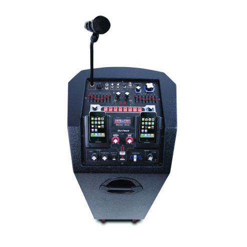 DJ Tech Twin iPod Portable PA System - iBoost 303