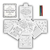 Kids Mini Wedding Activity Colouring Pack