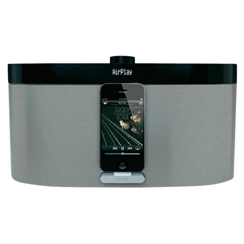 Gear4 Airzone Series1 Airplay Black and Chrome Speaker System