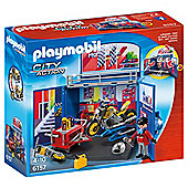 Playmobil My Secret Motorcycle Workshop Play Box