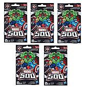 Marvel 500 Micro Figure Blind Bag - 5 Random Bags Supplied