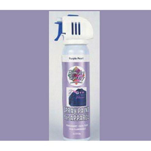 Simply Stencil Spray - Purple Pearl