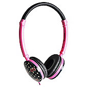Accessorize On Ear Headphones with Mic - Polka Dot