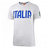 2014-15 Italy Puma Graphic T-Shirt (White) - Kids - White