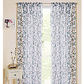 Blossom Slot Top Voile Panel - Teal