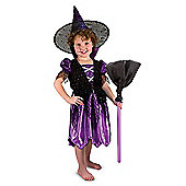 Melissa and Doug Witch Dress Up Costume Set