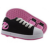 Heelys Fresh Black/Pink Kids HX2 Heely Shoe - Black