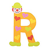 Tatiri Crazy Clown Letter R ((Orange) Hearts)