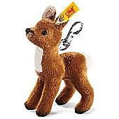 Steiff 10cm Fawn Soft toy Keyring