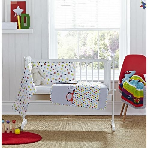 buy clair de lune 2pc crib bedding set the dudes from our all baby toddler bedding range tesco