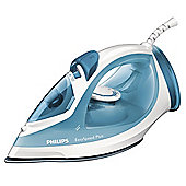 Philips GC2040/70 Non Stick Plate Steam Iron - Blue & White