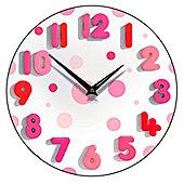 Smith & Taylor Spotty Too Wall Clock