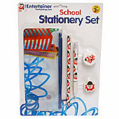 The Entertainer School Stationary Set