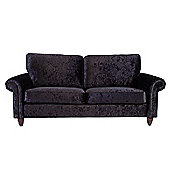 Chester three seater Sofa - Black