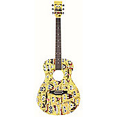 SPONGEBOB ACOUSTIC GUITAR OUTFIT
