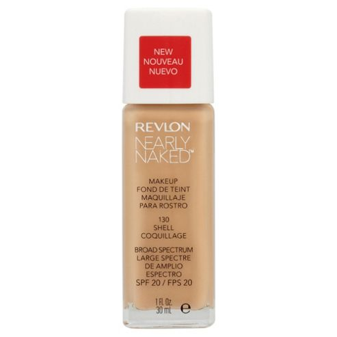 Revlon Nearly Naked Foundation Shell