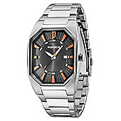 Police Octane Mens Date Display Watch - 13755JS-02MA
