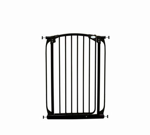 Dream Baby Extra Tall Swing Close Security Gate - Black
