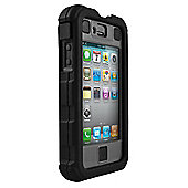 Ballistic Shell Hard Core iPhone 4 Case Black