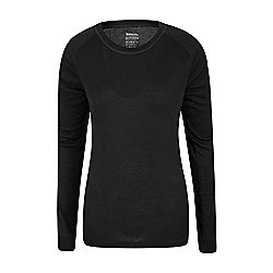 Mountain Warehouse Talus Womens Long Sleeved Round Neck Top ( Size: 10 )