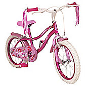 "Silverfox Glitz 16"" Girls Bike"