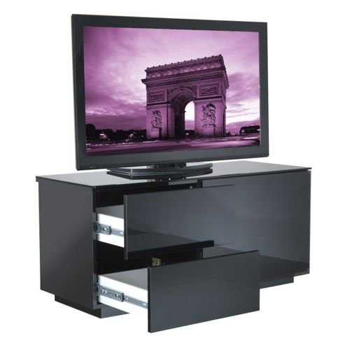UK-CF Cityscape Paris TV Stand - Black